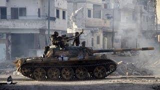 Сирийских повстанцев выбивают из Хомса (новости)