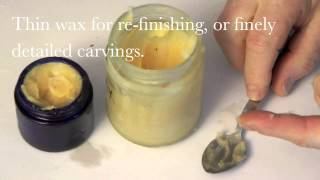 How to make Beeswax Polish  -  Woodcarving Workshops