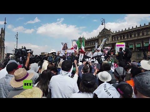 La Marcha por la Paz y la Verdad llega a la Ciudad de México
