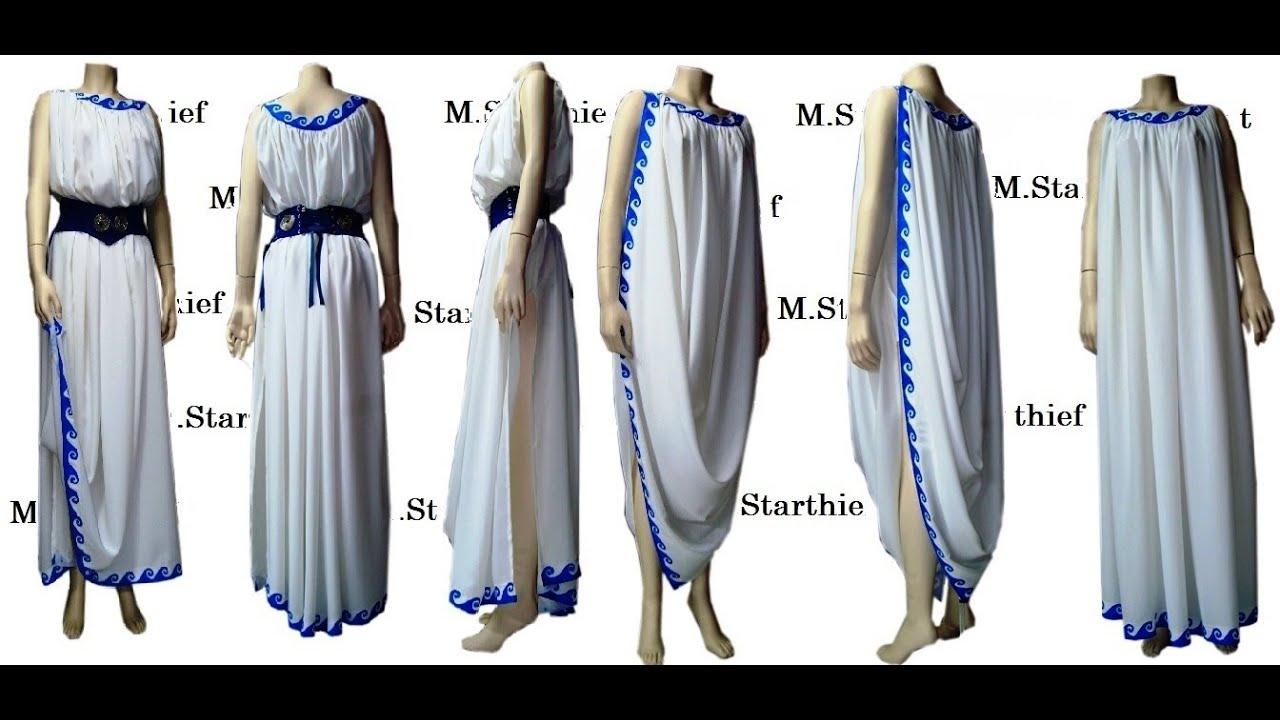 Greek Anciend Dress M Starthief Greece Youtube