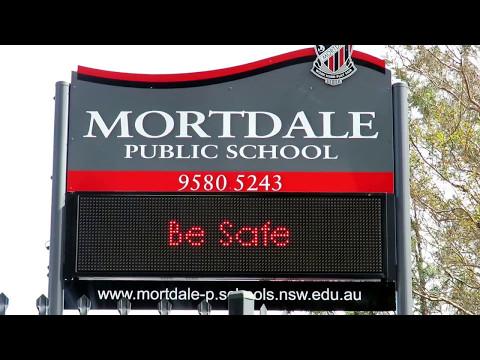 Electronic Sign - Mortdale Public School, Sydney