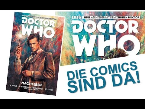 Doctor Who - Die Comics sind da!