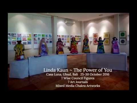Linda Kaun   The Power of You Exhibition - Bali 2016