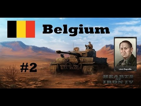 Hearts Of Iron IV - Belgium - Invasion of Luxembourg - Part 2 - No commentary