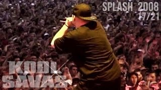 Kool Savas - Splash! 2008 #17/21: Ambitionz az a Ridah Freestyle (Official HD Live-Video 2008)