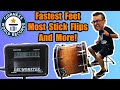 I Attempt 9 MORE Guinness World Records (Fastest Bass Drum, Most Stick Flips, and More!)