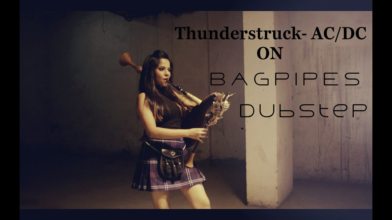 Thunderstruck AC/DC - Dubstep Bagpipes | Naagin Song | The Snake Charmer