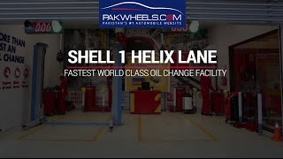 SHELL: Fastest World Class Oil Change Facility