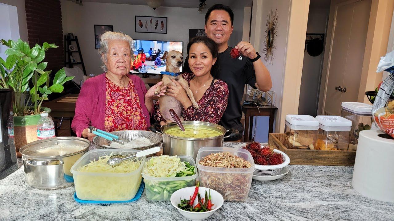 Download Khmer Homemade Nom Banh Chok Noodles