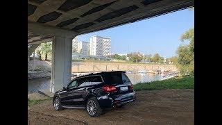 Mercedes GLS 500 test PL Pertyn Ględzi