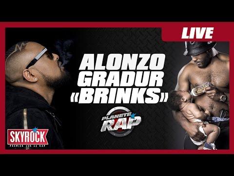 """Alonzo """"Brinks"""" feat. Gradur en live #PlanèteRap"""