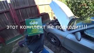 """Hyundai Elantra 2005г.в. 130000км. Ремонт переднего суппорта. """"Спецура"""" от JTC в течении видео."""