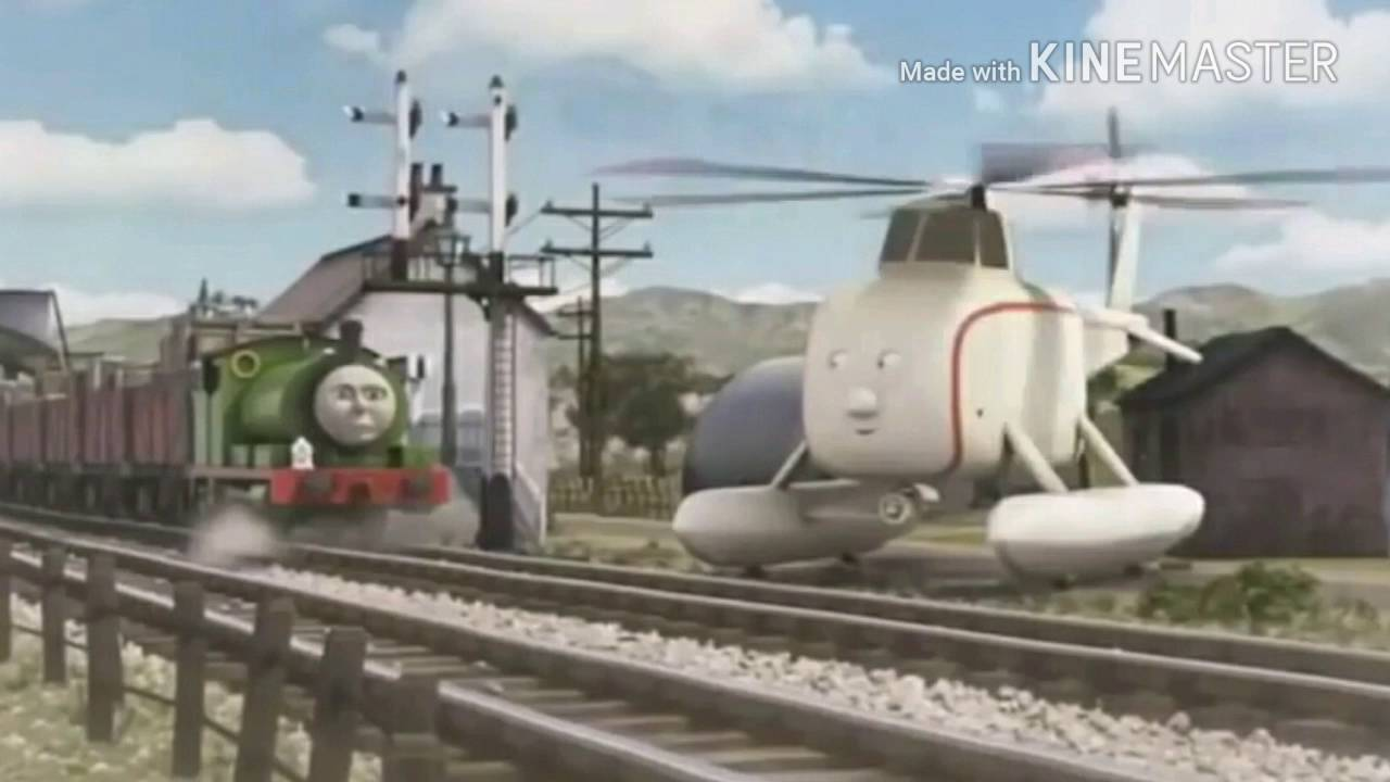 Thomas Friends Rws Percy And Harold With Cgi Pics From Letters To Santa Youtube