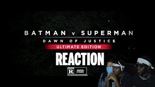 Batman v Superman: Dawn of Justice Ultimate Edition Trailer Reaction