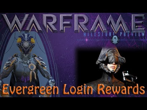 Warframe - Evergreen Login Rewards!? thumbnail