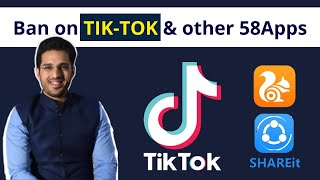 Tik Tok BAN, 59 Chinese App banned- LEGAL, ECONOMIC, DEFENCE IMPACT! Learn all answers