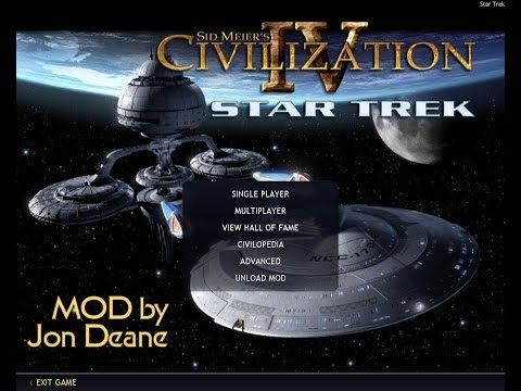 Star Trek Civilization IV BTS FF Mod Tour HD - Part 1/2