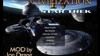 Star Trek Civilization IV BTS FF Mod Tour HD - Part 1/2