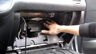 2003 Honda Civic cabin air filter replacement