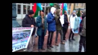 BRP Sweden chapter held a protest demonstration in Sweden against HR violations in Balochistan.