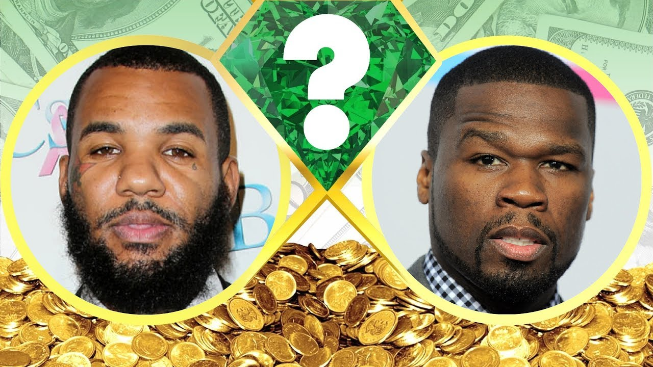 The Game Or 50 Cent Net Worth Revealed 2017