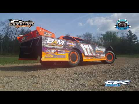 #171 Kyle Courtney - Crate - 4-14-17 Crossville Speedway - In-Car Camera