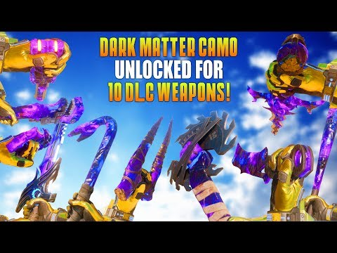 DARK MATTER CAMO UNLOCKED FOR 10 MELEE WEAPONS! (Road To Dark Matter #10 Special!) - MatMicMar