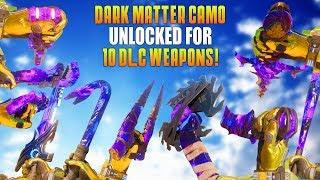 DARK MATTER CAMO UNLOCKED FOR 10 MELEE WEAPONS! (Road To Dark Matter #10 Special!) - MatMicMar