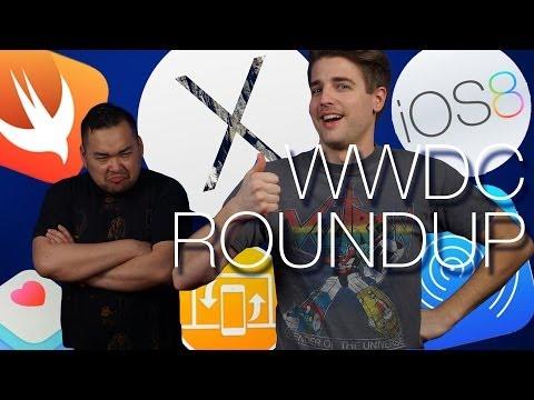 iOS 8, OS X Yosemite, HomeKit, AirDrop Continuity - WWDC 2014