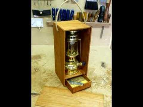 Canoe Wanigan Amp Lamp Box Youtube
