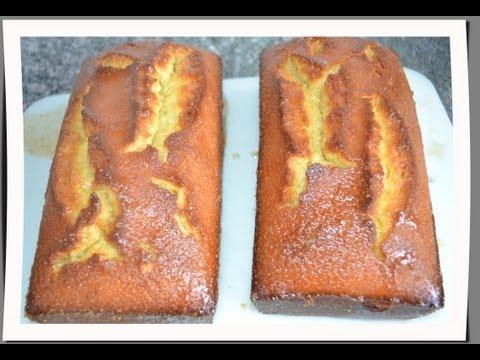 Lemon almond pound cake