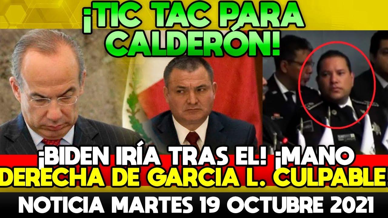SE LE ACABA EL TIEMPO! MANO DERECHA DE GARCIA LUNA CAE! CALDERÓN CONTRA LAS CUERDAS! MARGARITA HUYE