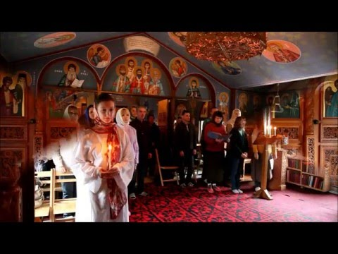 RUSSIAN-SPEAKING ORTHODOX FROM SEOUL VISIT THE MONASTERY OF THE HOLY TRANSFIGURATION - KAPYONG KOREA