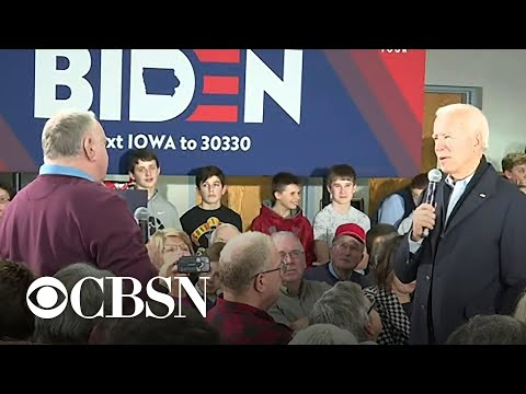 "Biden to Iowa voter: ""You're a damn liar"""