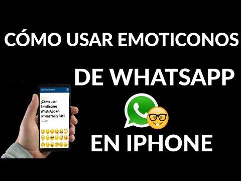 Cómo usar Emoticonos WhatsApp en iPhone