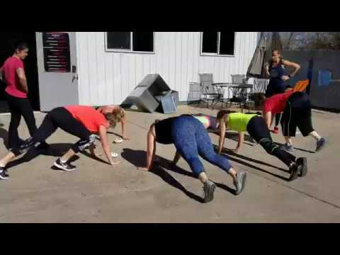 The Crossfit Ladies Do Burpees & Pie Eating 2019 Gym Open | RMSDF Castle Rock Colorado