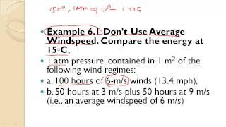 دورة طاقة الرياح : قضية للمناقشة