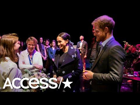 Inside Meghan Markle & Prince Harry's Secret Visit To Shout To Raise Awareness For Mental Health!