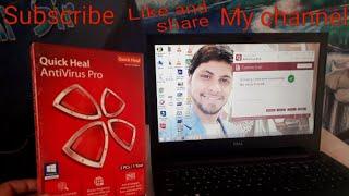 Best antivirus Quick Heal antivirus Pro laptop ke liye best