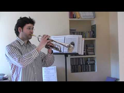 Juanjo Molina Trompetista clases por Skype Nota posición natural 2nda octava trompeta