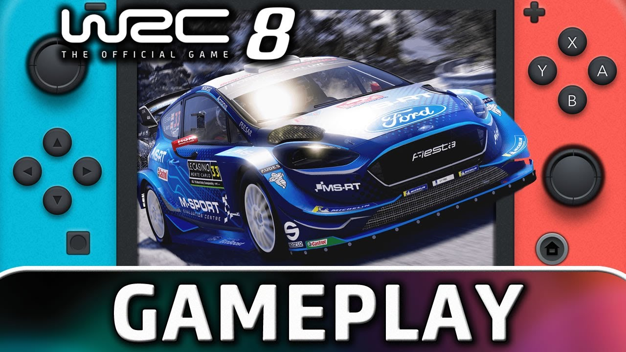 WRC 8 FIA World Rally Championship | First 5 Minutes on Nintendo Switch