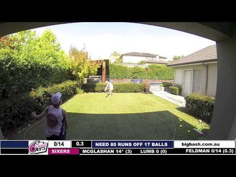 T20 Big Bash Game 2 Thunder V Sixers Youtube