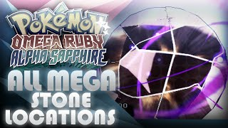 Pokemon ORAS ALL Mega Stone Locations! - Mootypwns