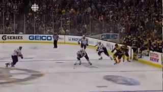 Joel Ward winning OT goal - vs. Bruins - Game 7 - (Caps Radio, John Walton) - 2012