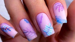 Маникюр Июнь 2021 Дизайн ногтей на короткие и длинные ногти Фото новинки Nail Art Design