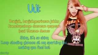 BESTie - Pitapat [English Lyrics, Member Coded + Romanisation] HD Mp3