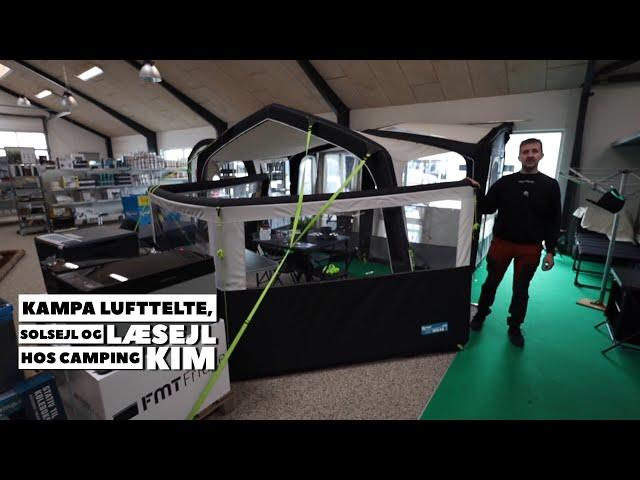 Kampa lufttelte, solsejl og læsejl hos Camping Kim (Reklame)