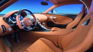 Officiel : L'interieur de la Bugatti Chiron 2016 enfin dévoilée !!!