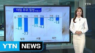 [날씨] 때 이른 추위 절정...내일 낮 풀려 / YTN