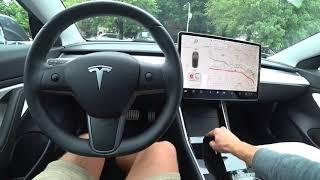 tesla Model 3 2019 год  Обзор и тест-драйв электромобиля